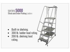 Series 5000 Stock And Order Picking Ladders