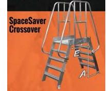 Space-Saver Crossover Bridge - Aluminum (SPA) 70°