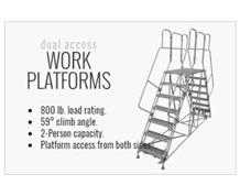 Welded Steel Work Platforms - Series DWP