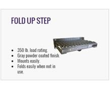 Steel Fold-Up Step - Manual