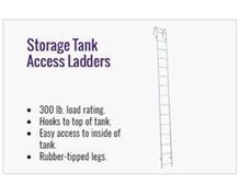 Storage Tank Access Ladder