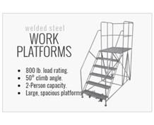 Welded Steel Work Platforms - Series WP