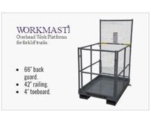 WORKMASTER® FORKLIFT PLATFORMS