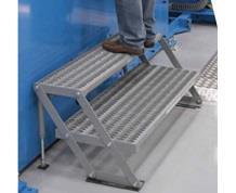 SERIES 2AWP Adjustable Two Step Work Platforms