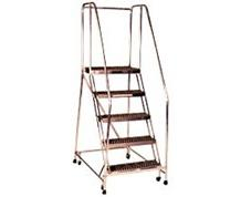 "Series ""A"" Aluminum Safety Ladders"